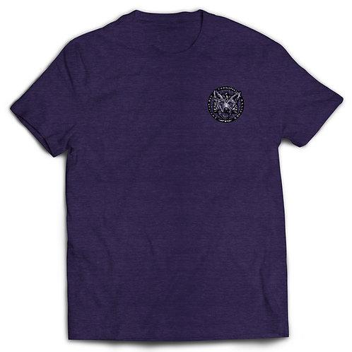 T-shirt Storm Blue with B/W logo
