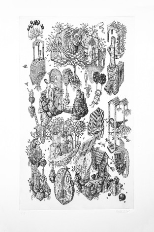 ALL IN RUINS - ETCHING