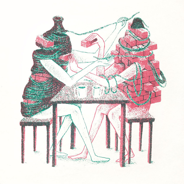 THE CONVERSATION - SCREENPRINT