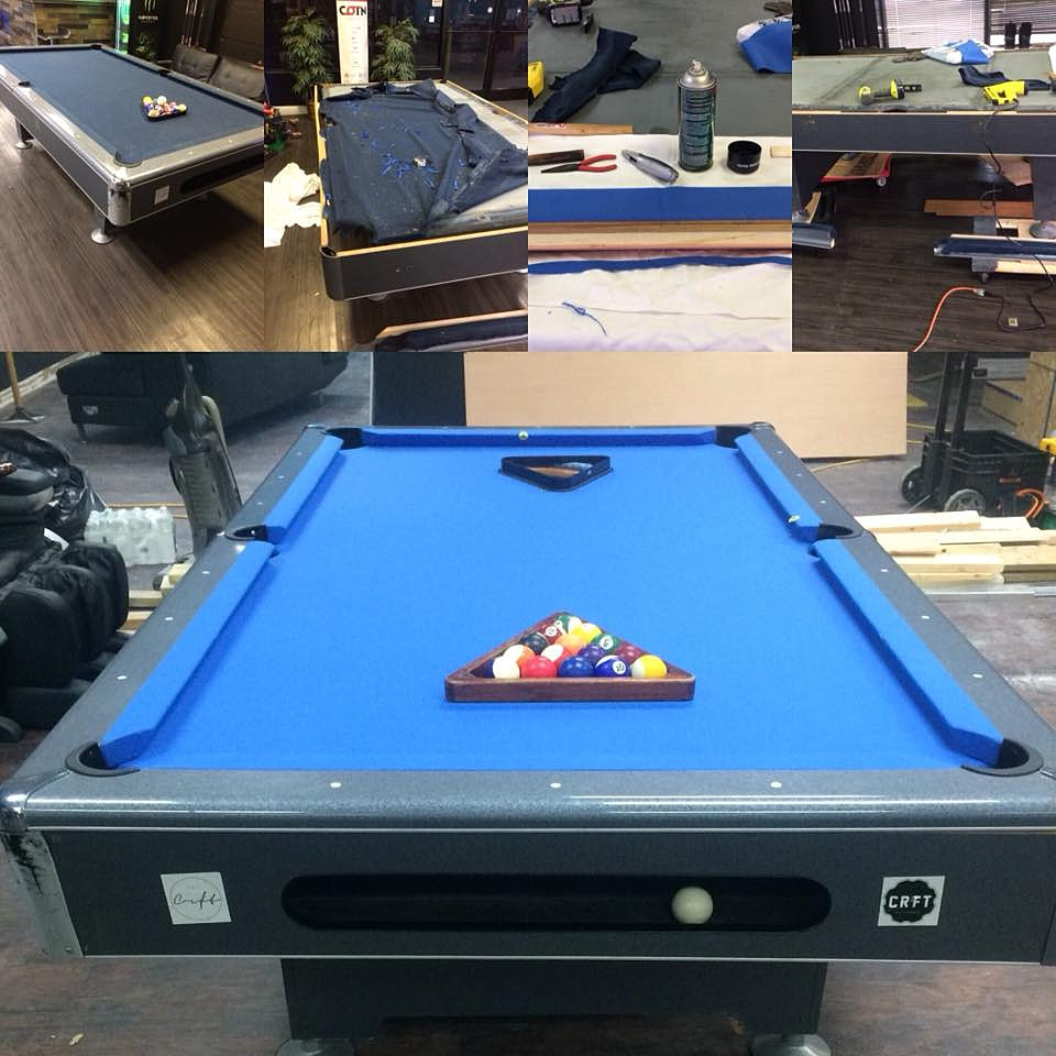 A+ Pool Table Installers U0026 Pool Table Movers| Newport News | Richmond | Re  Rubber Re Felt.