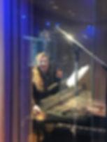 Robin Cisek Music Recordig in the studio