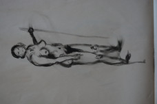 Woman with Stick II