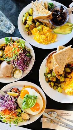 Breakfast in Victoria, BC