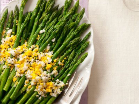 Asparagus with Eggs Mimosa Recipe