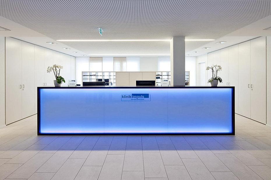 Praxisumbau Tagesklinik, Zürich, Schweiz