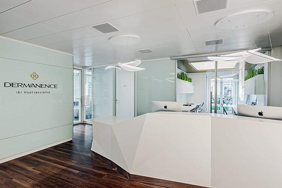 Umbau der Arztpraxis in Zürich - Dermatologiezentrum