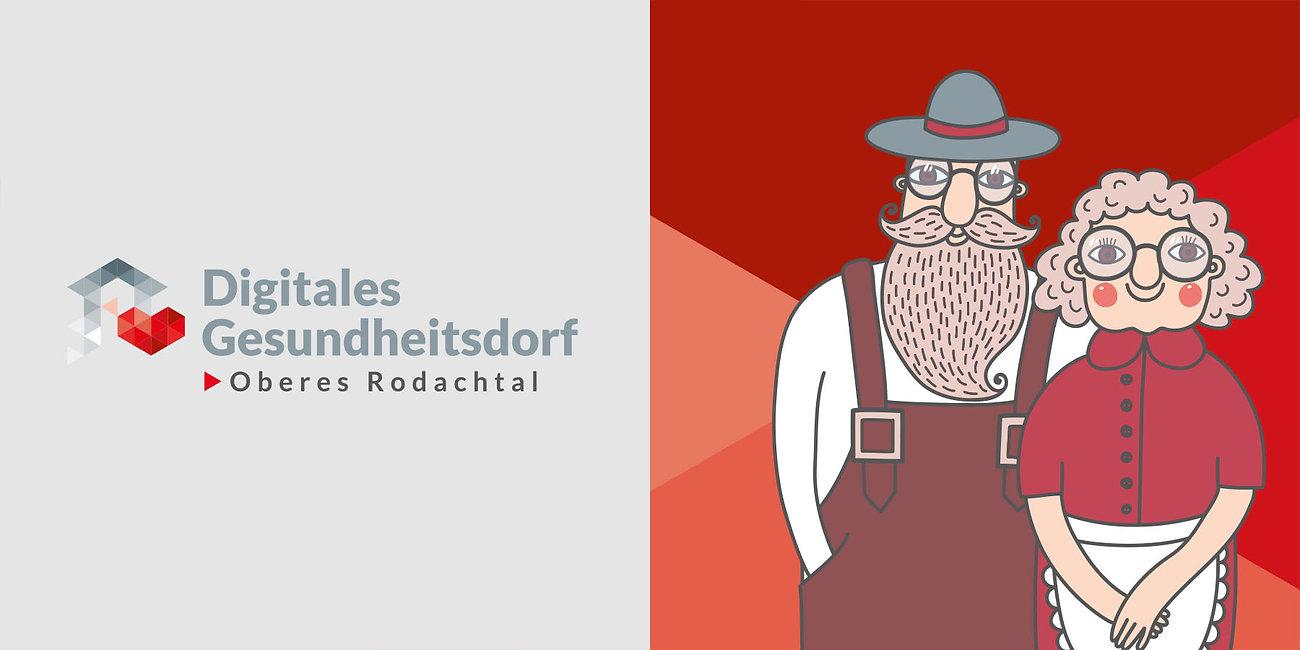 Logodesign, Logoentwicklung, Branding Digitales Dorf Bayern, Designstudio Lohrer, Grafikdesign, Webdesign, Werbung, Werbeagentur, Nürnberg, Fürth, Corporate Design, Branding, Markenentwicklung, Markenstrategie, Logodesign, Verpackungsdesign, Geschäftsausstattung, Flyer, Plakate, Anzeigen, Design für Print und digitale Medien