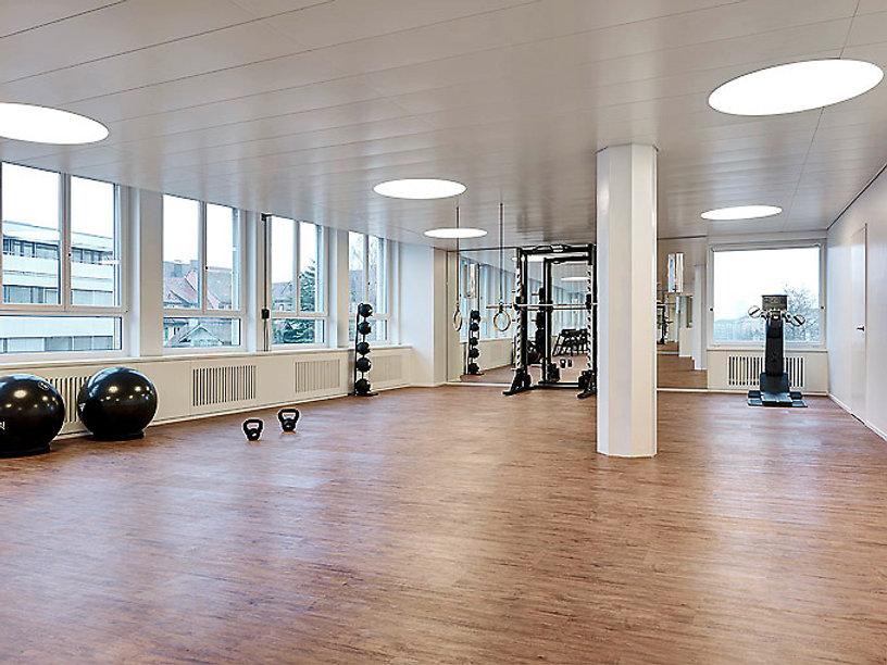 Innenarchitekten für Fitnessstudio in Zürich - Renovierung Fitnessstudio Zürich