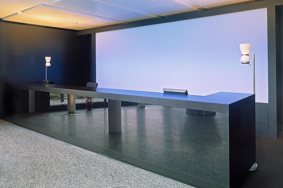 Planung der Innenarchitektur für Empfangshalle - Mercedes Benz, Schweiz