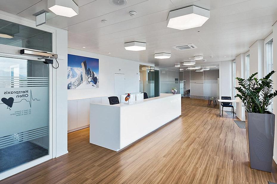 Unsere spezialisierten Architekten sind für Ihr Praxisdesign da