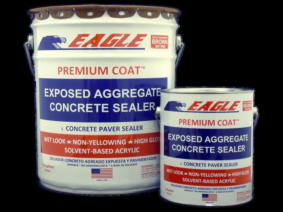 Premium Coat Exposed Aggregate Acrylic Concrete Sealer