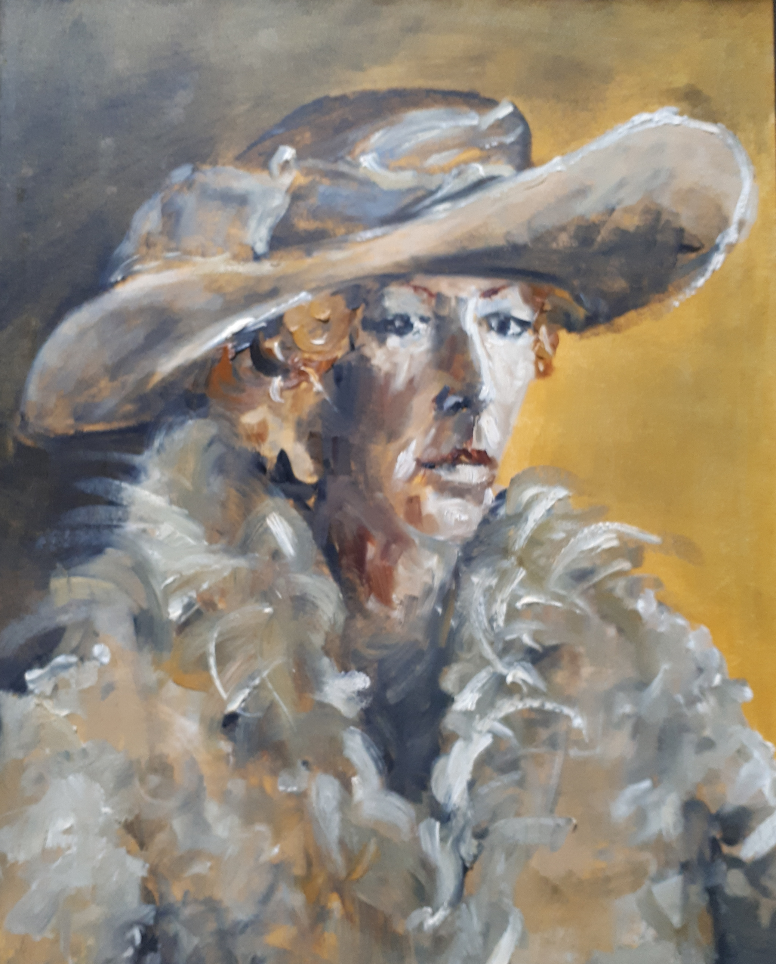 Aristocratic lady 60 x 80