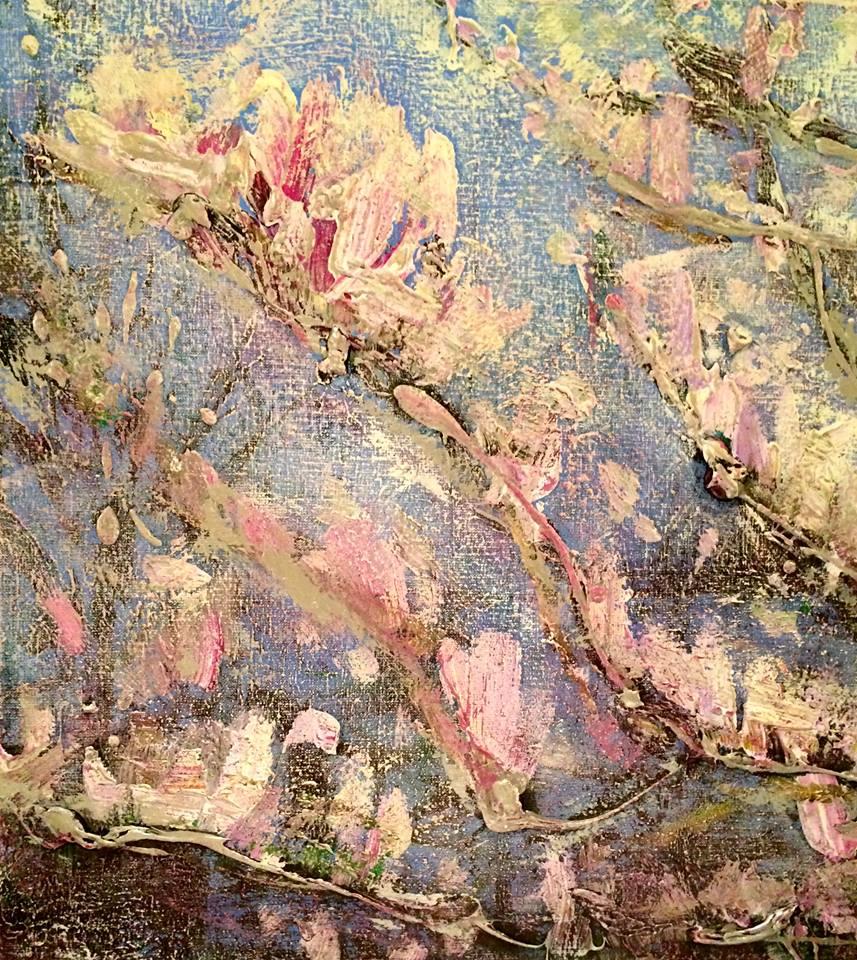 Magnolias 60 x 60 SOLD