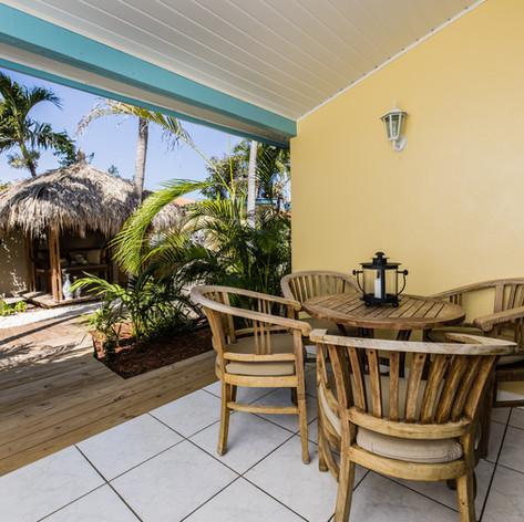 Paradera Park One Bedroom Suite - porch.