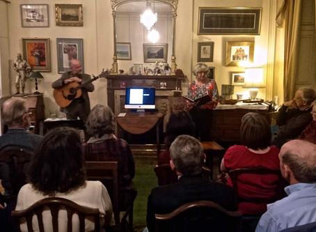 The Stevenson Show in the Stevenson Home