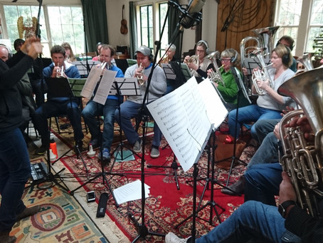 Recording The Kingston Avenue song - a day of recording