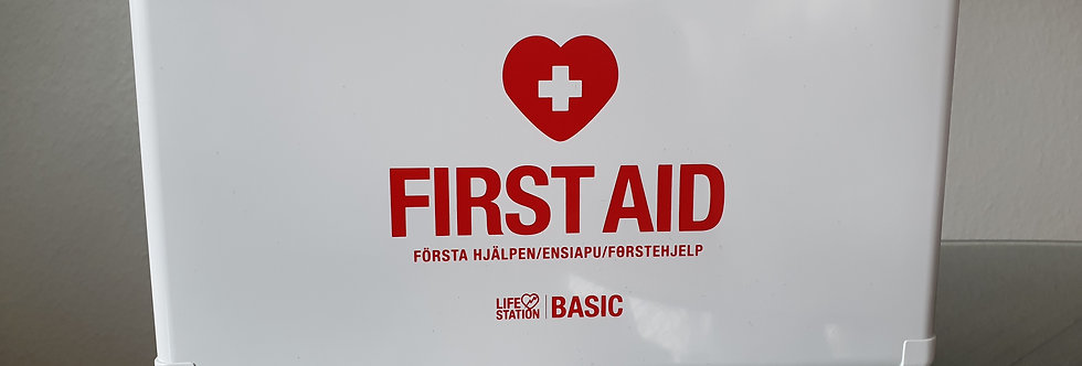 Förbandslåda LifeStation Home (tid Basic)