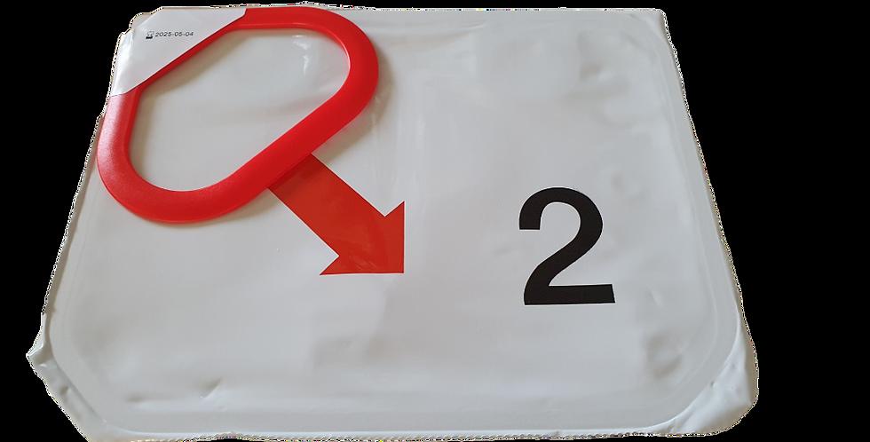 Utbyteselektroder Lifepak CR2