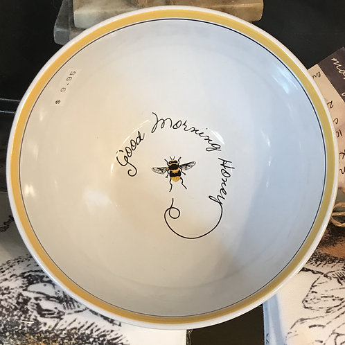 'Good Morning, Honey' Bowl