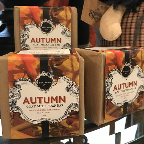 Beekman Autumn Soap Bar