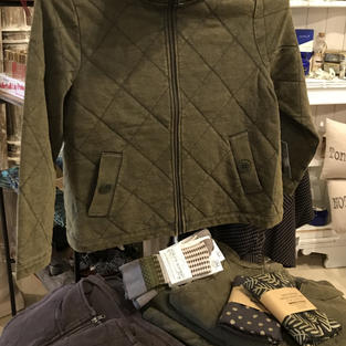 Lightly Quilted Jacket