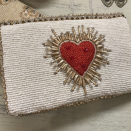 Mary Frances El Corazon Convertible Clutch