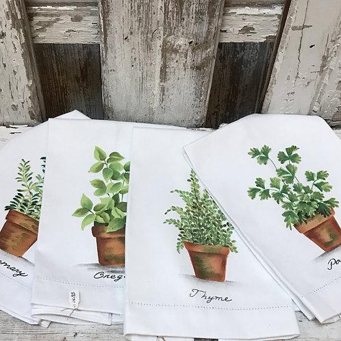 Herb Tea Towels