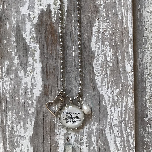 Mom Friend Necklace
