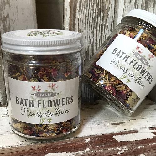 Dot n Lil Bath Flowers