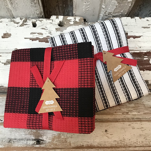 Set of 2 Wintery Towels