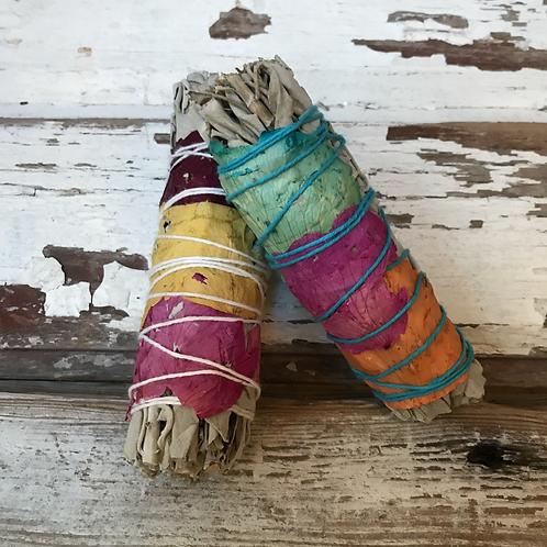 Colorful Smudge Sticks