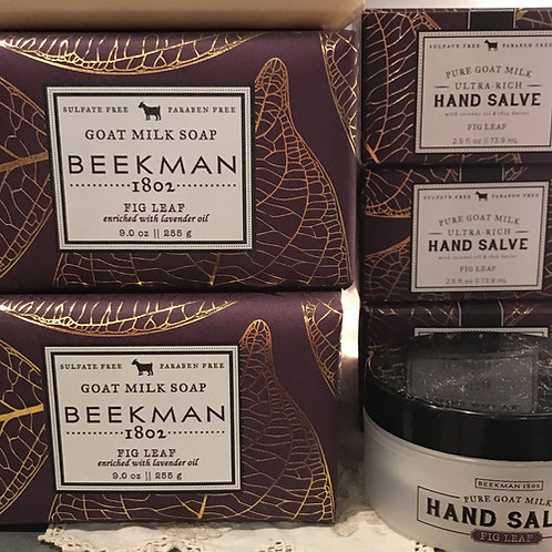 Fig Leaf Beekman Goat Milk Products