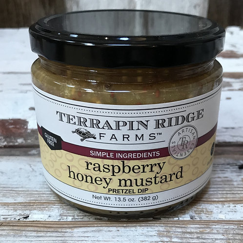 Raspberry Honey Mustard Pretzel Dip