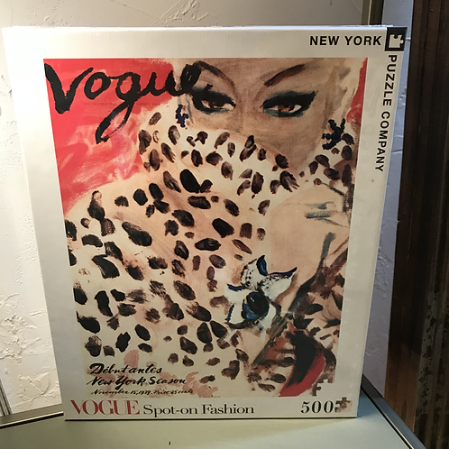 Vintage Vogue Cover Puzzle
