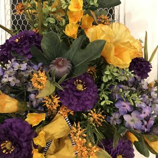 Purples and Yellows