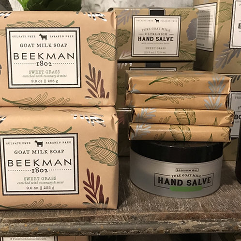 'Sweet Grass' Beekman Goat Milk Products