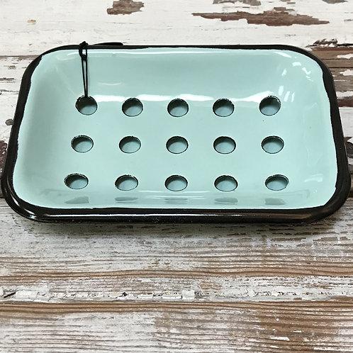 Aqua Farmhouse Soap Dish