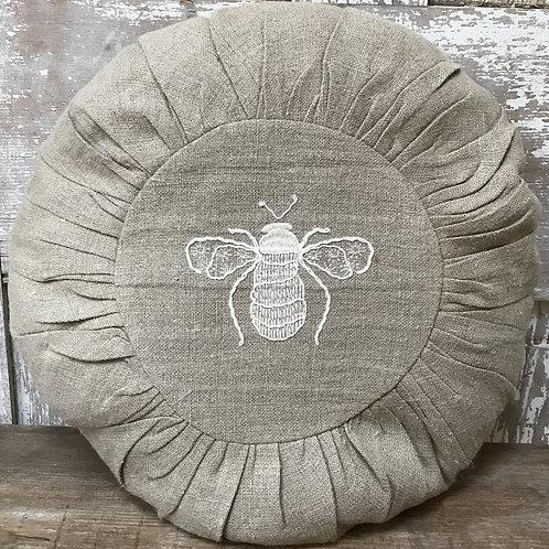 Round Bee Pillow