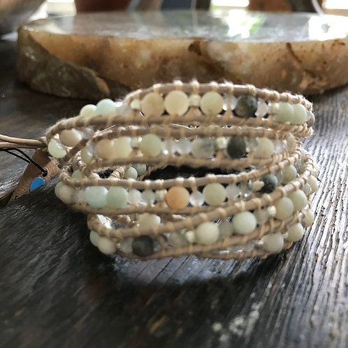 Beach Earth Wrap Bracelet