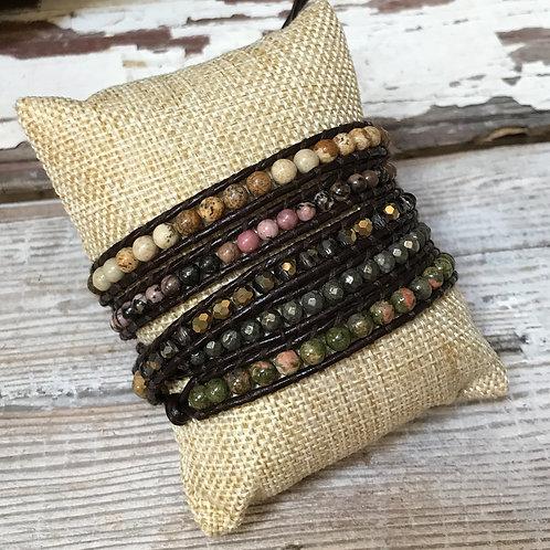 June Garden Wrap Bracelet