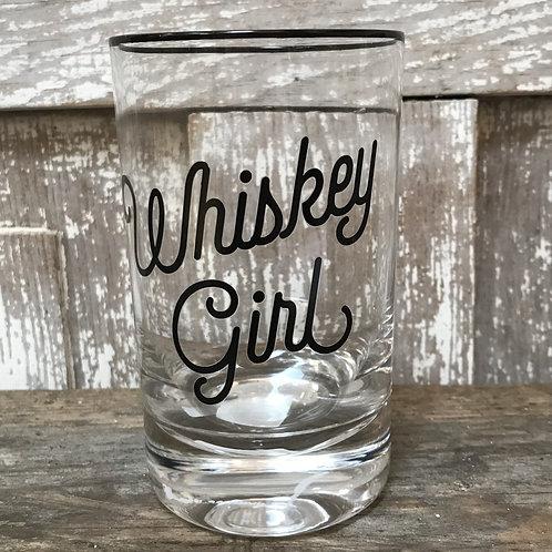 Whiskey Girl Glass