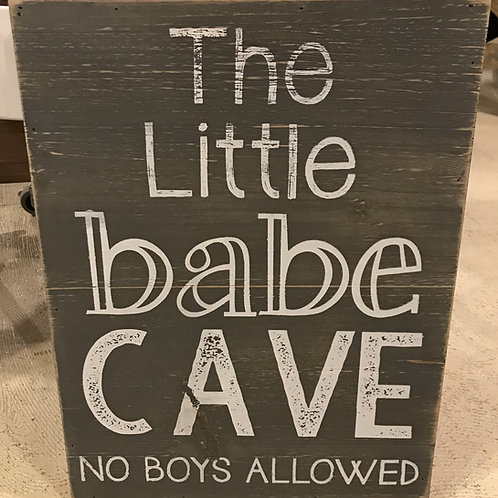 Little Babes and Dudes Signs