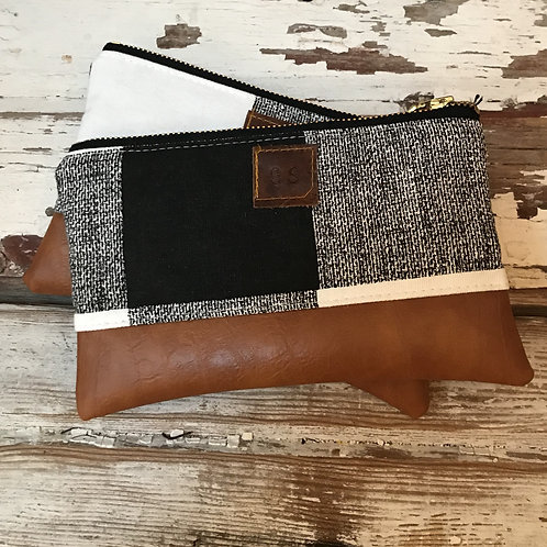 Checked Pouch