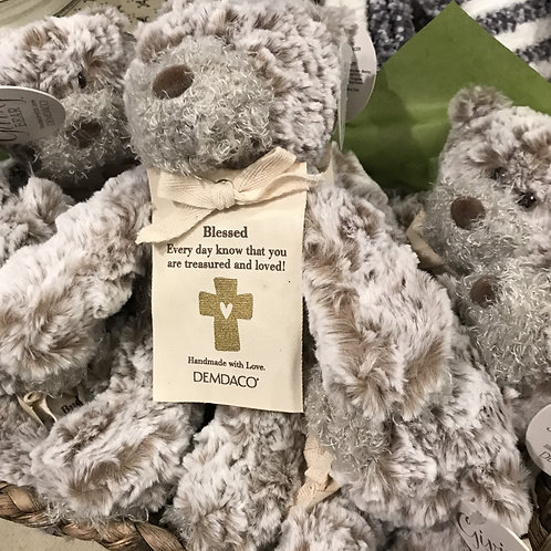 """Blessed"" Mini Teddy Bear"
