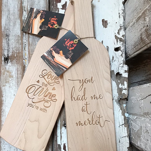 Wine Theme Serving Boards