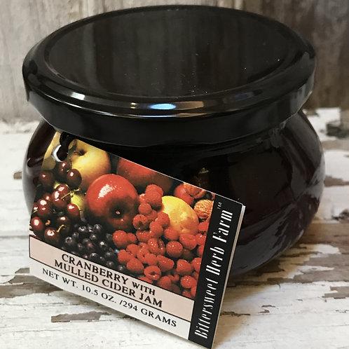 Cranberry Mulled Cider Jam