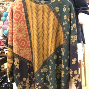 Soft and Slouchy Eclectic Pullover