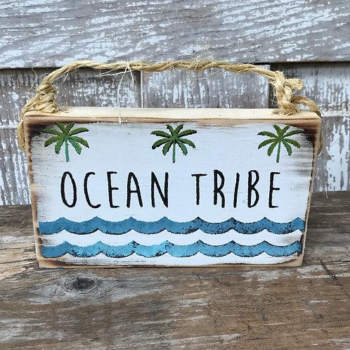 Ocean Tribe Sign