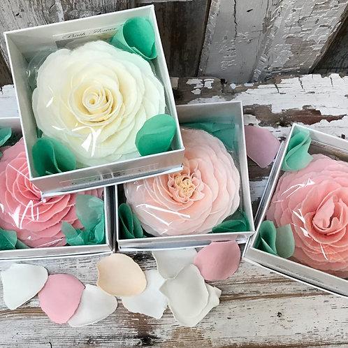Luxurious Flower Petal Soaps