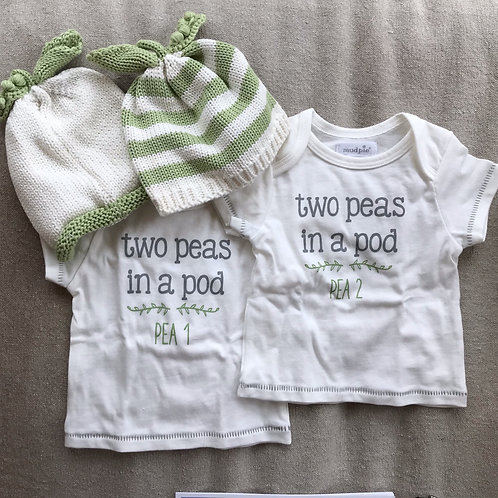 Two Peas in a Pod Twin Gift Set